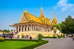 Royal Palace in Phnom Penh Stock Photos
