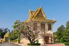 The Royal palace in Phnom Penh. Cambodia Royalty Free Stock Photography