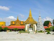 Royal Palace in Phnom Penh Royalty Free Stock Image