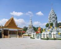 Royal Palace in Phnom Penh Stock Photography