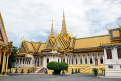 Royal palace in Phom Penh Cambodia Stock Image