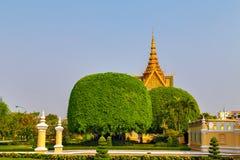 Royal Palace Pnom Penh, Καμπότζη Στοκ Εικόνες