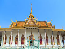 Royal Palace Pnom Penh, Καμπότζη Στοκ φωτογραφία με δικαίωμα ελεύθερης χρήσης