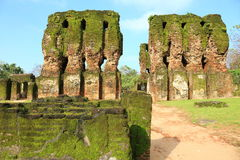 Royal Palace, Polonnaruwa en Sri Lanka Fotografía de archivo