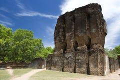 Royal Palace, Polonnaruwa, Sri Lanka royalty free stock images
