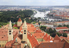Royal Palace of Prague Castle Royalty Free Stock Photography