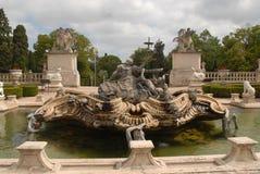 Royal Palace in Queluz Stock Photo