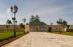 Royal Palace of Rabat Stock Photos