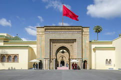 Royal Palace Rabat Royalty Free Stock Photos
