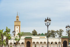 Mosque at Royal Palace Rabat, Morocco. Part of the Royal Palace in Rabat, Morocco, with mosque Stock Photography