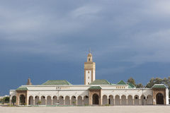 Mosque at Royal Palace Rabat, Morocco stock photos
