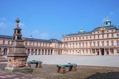 Royal Palace in Rastatt Immagine Stock Libera da Diritti