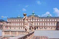 Royal Palace in Rastatt Immagini Stock