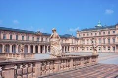 Royal Palace in Rastatt Fotografia Stock Libera da Diritti