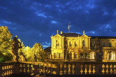 Royal Palace in Rastatt Stock Image