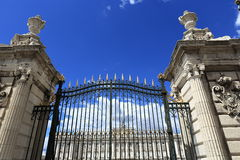 The Royal Palace Real, Madrid, Spain Stock Photography