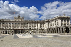 The Royal Palace Real, Madrid, Spain Royalty Free Stock Photo