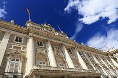 The Royal Palace Real, Madrid, Spain Royalty Free Stock Photos