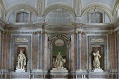 Royal Palace Reggia van Caserta stock foto