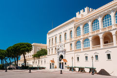 Royal palace, residence of Prince of Monaco.  stock photos