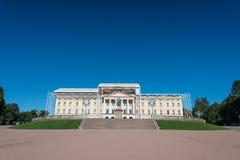 Royal Palace roof renovation Royalty Free Stock Images