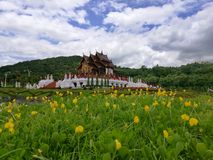 Royal palace. In the park ChiangMai Thailand Royalty Free Stock Photography