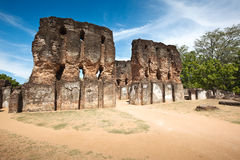 Royal Palace ruins Royalty Free Stock Photography