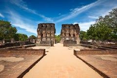 Royal Palace ruins Stock Photo