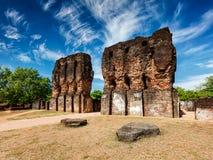 Royal Palace ruins Royalty Free Stock Photo