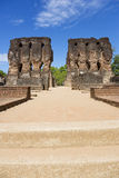 Royal Palace Ruins, Polonnaruwa, Sri Lanka Royalty Free Stock Photos