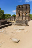 Royal Palace Ruins, Polonnaruwa, Sri Lanka Royalty Free Stock Photography