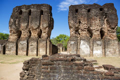 Royal Palace Ruins, Polonnaruwa, Sri Lanka Royalty Free Stock Image