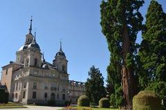 Royal Palace San Ildefonso's Uprawia ziemię Obrazy Stock