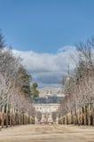 Royal Palace at San Ildefonso, Spain Royalty Free Stock Photography
