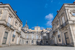 Royal Palace at San Ildefonso, Spain Stock Photo