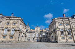 Royal Palace at San Ildefonso, Spain Stock Images