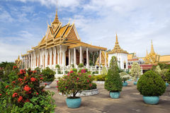 Royal Palace Scenery Royalty Free Stock Photo