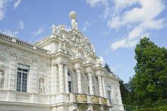 Royal palace of schloss linderhof Stock Images