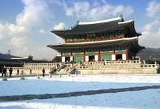 Royal Palace Seoul Stock Photos