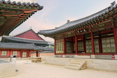 Royal Palace in Seoul, Korea royalty free stock image