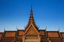 Royal Palace and Silver pagoda,Phnom Penh,Cambodia Stock Photo