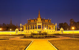 Royal Palace and Silver pagoda,Phnom Penh,Cambodia Stock Images