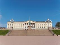 Royal Palace (slott) del kongelige di Det - Oslo, Norvegia Fotografia Stock
