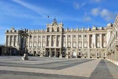 Royal Palace spagnolo a Madrid Spagna Fotografie Stock