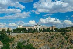 Royal Palace. The Spanish city Toledo Stock Photos