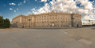 Royal palace in the spring morning Stock Photography