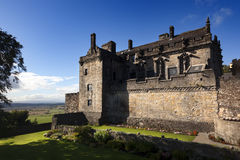 Royal Palace at Stirling castle Royalty Free Stock Images