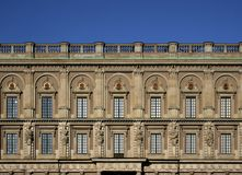 Royal Palace in Stockholm. Royal Palace at Gamla Stan (old town) in Stockholm, Sweden Stock Image