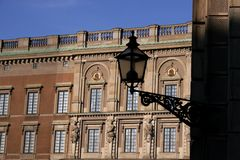 Royal Palace in Stockholm. Royal Palace at Gamla Stan (old town) in Stockholm, Sweden Royalty Free Stock Photo