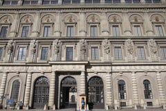 Royal Palace Stockholm Royalty-vrije Stock Foto's
